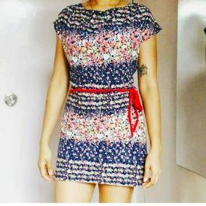 Floral Mini dress/ tunic top